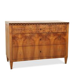 Biedermeier Chest of Drawers, Probably South German, 1820s