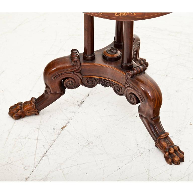 Neoclassical Side Table Berlin, First Half of the 19th Century For Sale