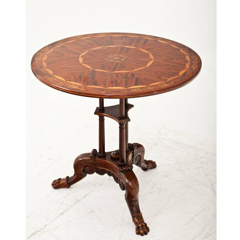 German Side Table Berlin, First Half of the 19th Century For Sale