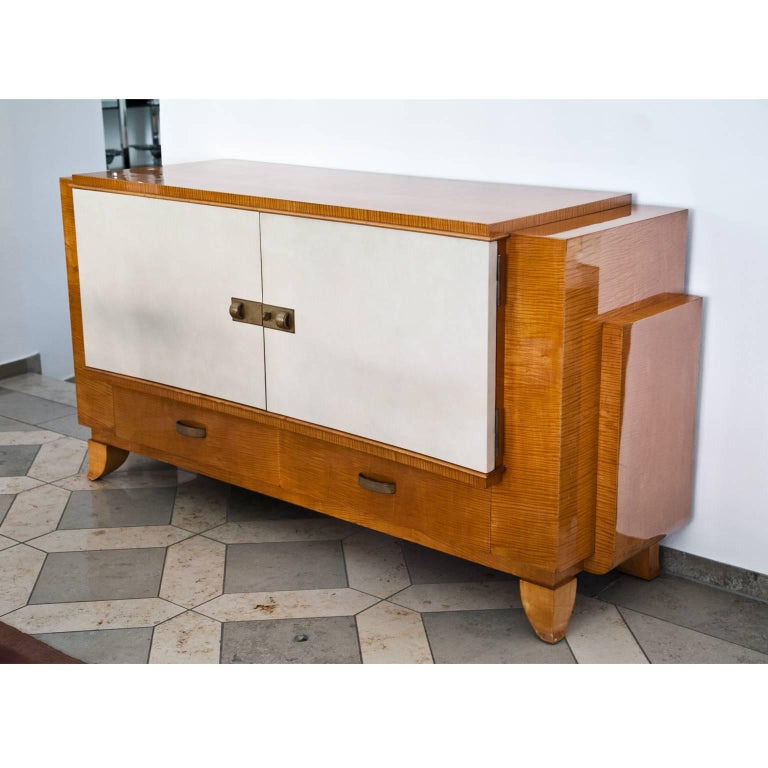 French Art Deco Sideboard, France, 1940s For Sale
