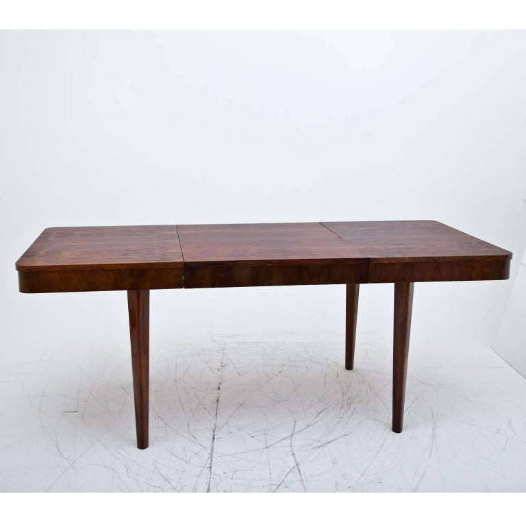 Art deco dining room table probably bohemia 1930s for sale at 1stdibs - Art deco dining room table ...
