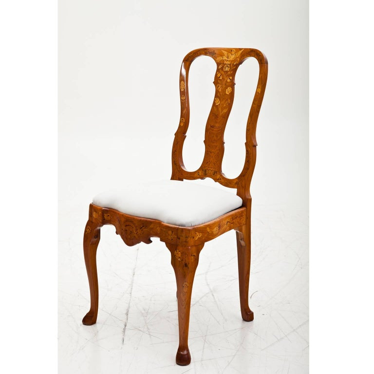 Dutch baroque dining chairs 18th century for sale at 1stdibs for Baroque dining furniture
