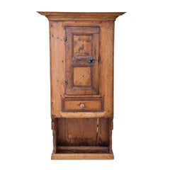 Pine Kitchen Cabinet, German, 18th century
