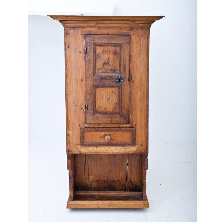 Pine Kitchen Cabinet: Pine Kitchen Cabinet, German, 18th Century At 1stdibs