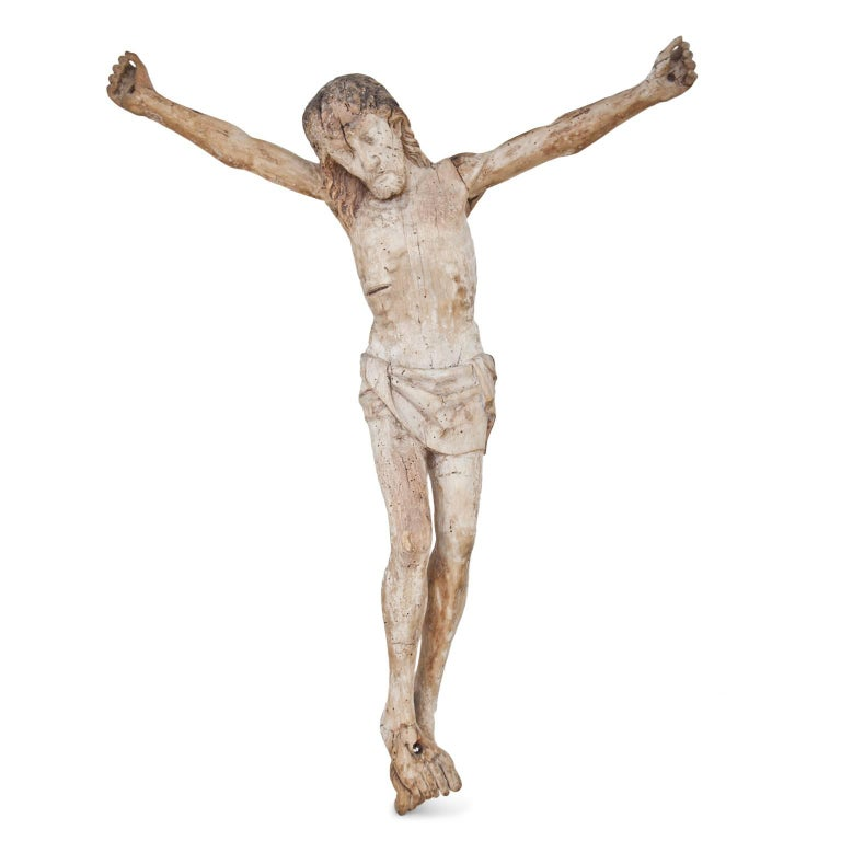 Limewood Crucifix of the 16th Century