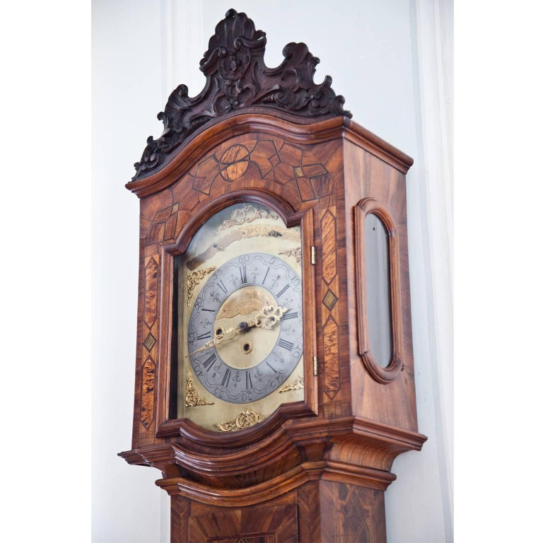 Grandfather Clock, Southern Germany 18th Century For Sale 1
