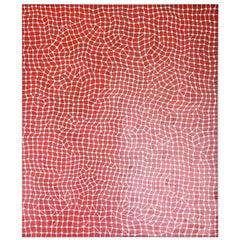 Peter Kampehl 'Netz' Painting, 2008