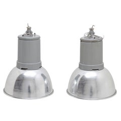 Industrial Lamps, Mid-20th Century