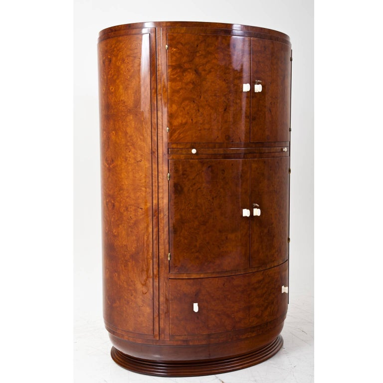 1920s Art Deco Bar Cabinet At 1stdibs