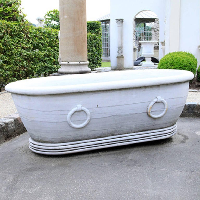 Marble Garden Tub 21st Century For Sale At 1stdibs