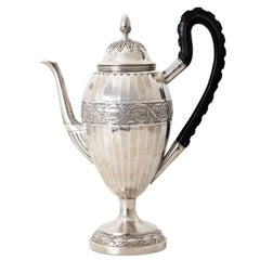 Neoclassical Coffee Pot, Augsburg, 1807-1809