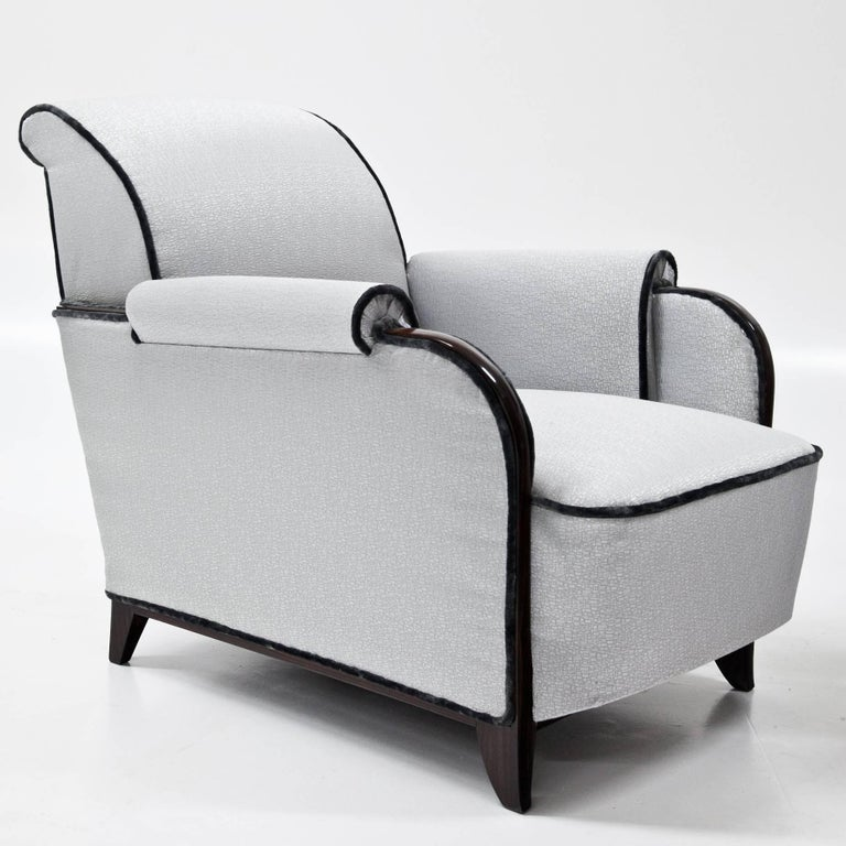 Art Deco Lounge Chairs, France, 1920s In Excellent Condition For Sale In Greding, DE