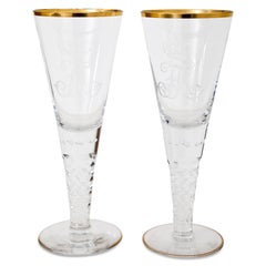 Chalices of Friedrich August iii of Saxony, Josephinenhütte, circa 1900