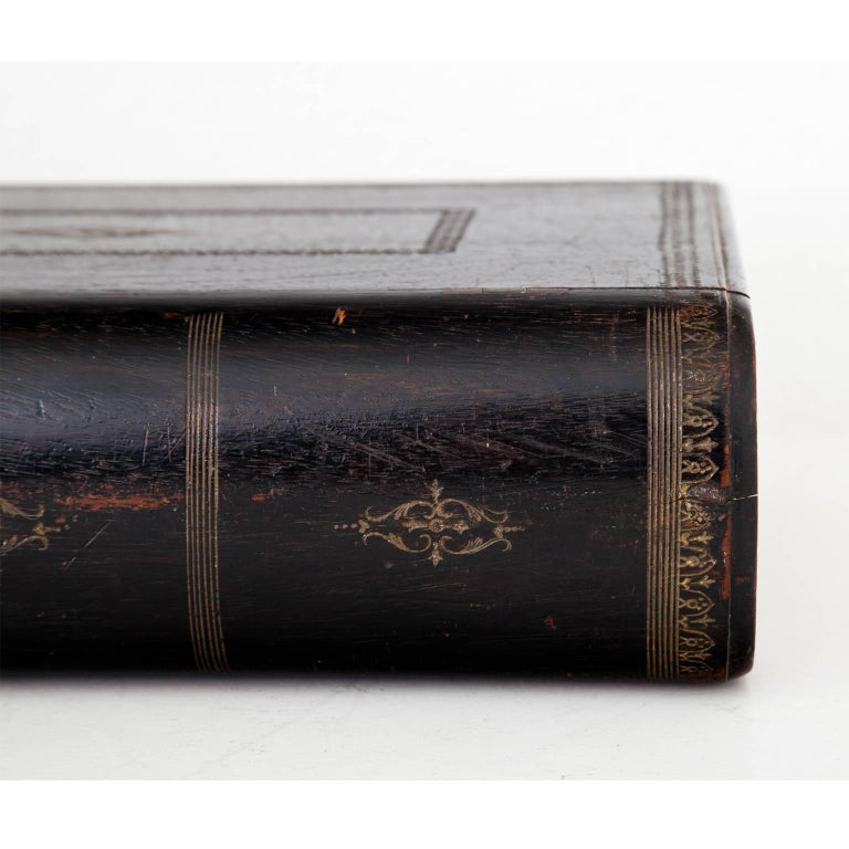 Book-Shaped Jewelry Case, Prob. France, 19th Century For Sale 3
