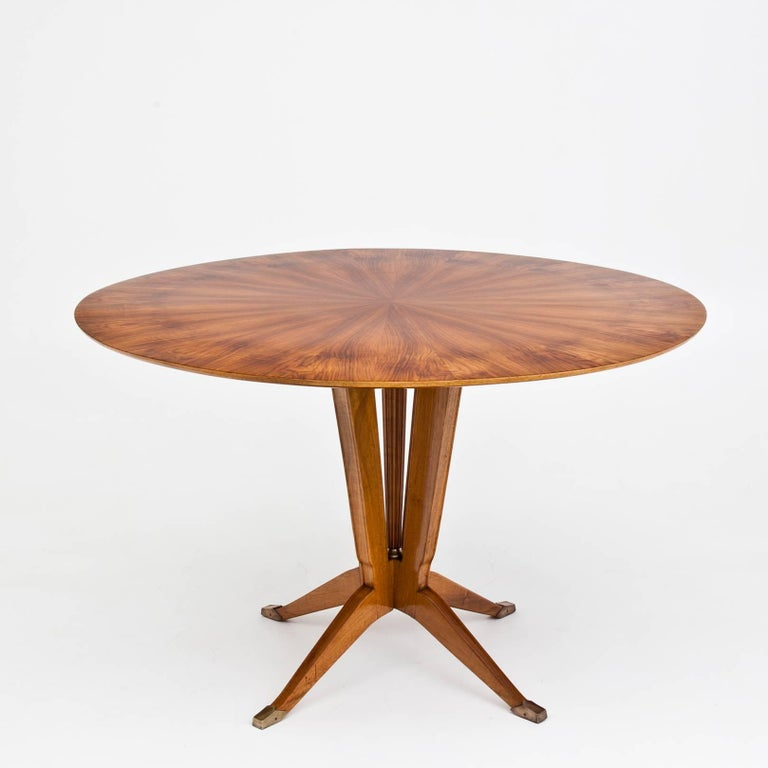 Round Dining Room Table, Italy, 1930s For Sale At 1stdibs