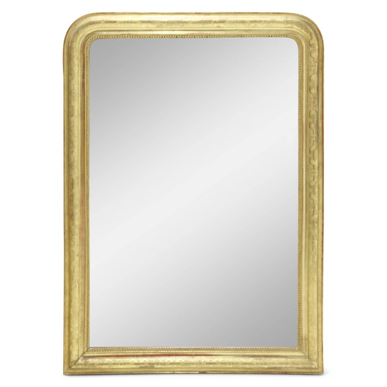 Large Louis Philippe Wall Mirror