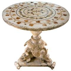 Italian Marble Centre Table, circa 1830