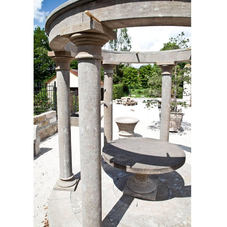 Stone Monopteros as Garden Pavilion, 21st Century For Sale