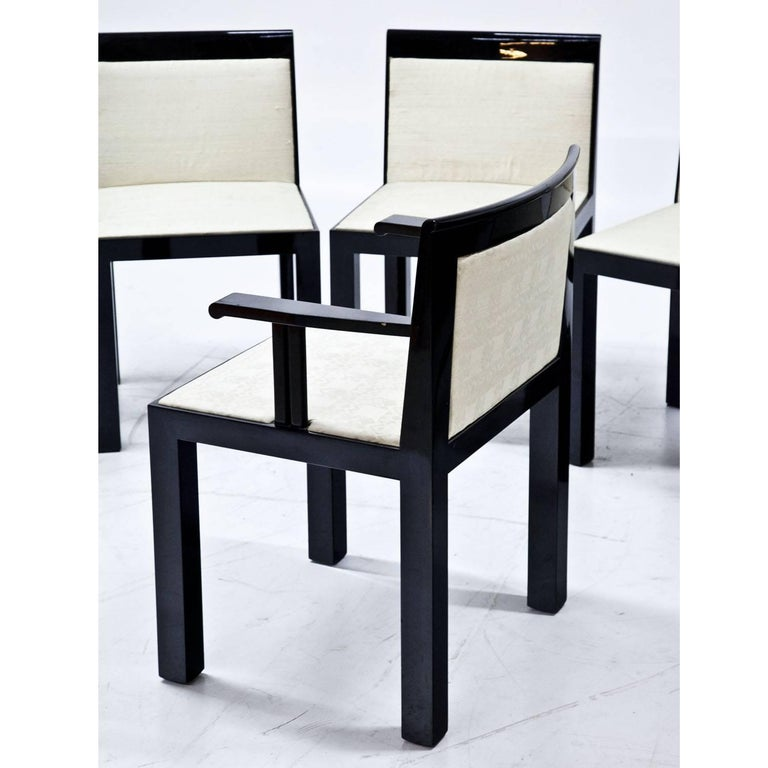 Modern 'Teatro' Chairs and Armchairs by Aldo Rossi, Italy, 1983 For Sale