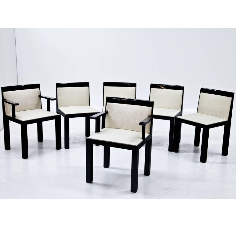 Italian 'Teatro' Chairs and Armchairs by Aldo Rossi, Italy, 1983 For Sale