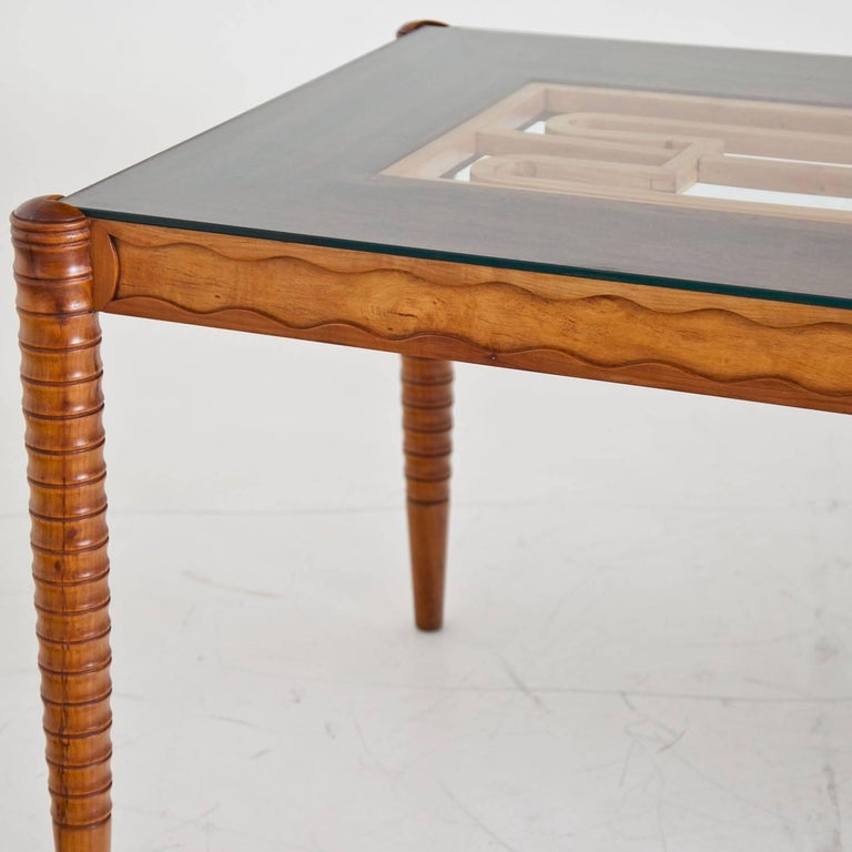 Italian Dining Table, Italy Mid-20th Century For Sale