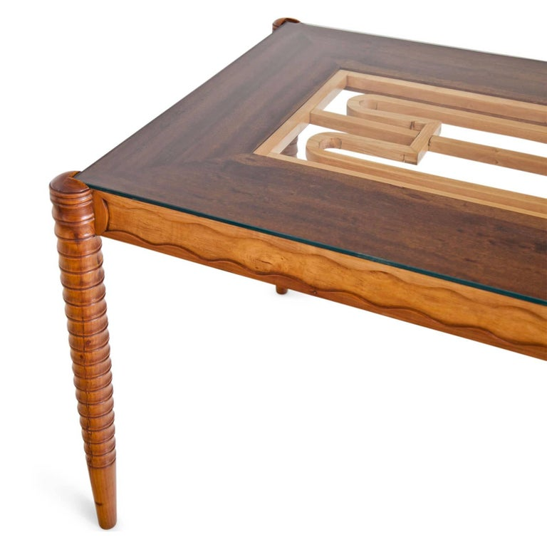Mid-Century Modern Dining Table, Italy Mid-20th Century For Sale