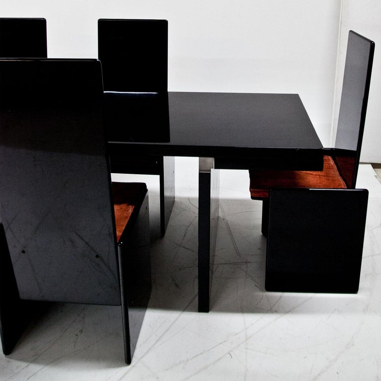 Late 20th Century 'Orseolo' Table by Carlo Scarpa for Gavina, Italy, 1972 For Sale