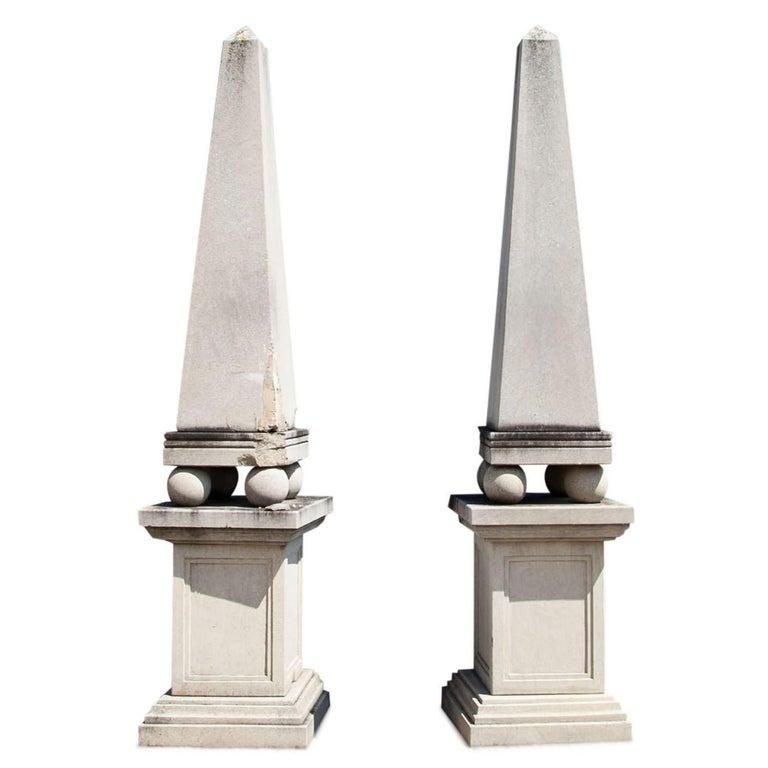 """Pair of Obelisks """"Heliopolis"""""""