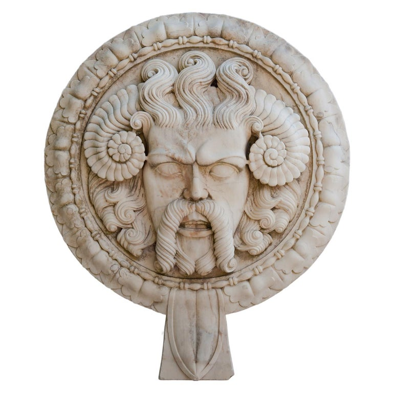 Marble Wall Relief, Italy, 21st Century For Sale