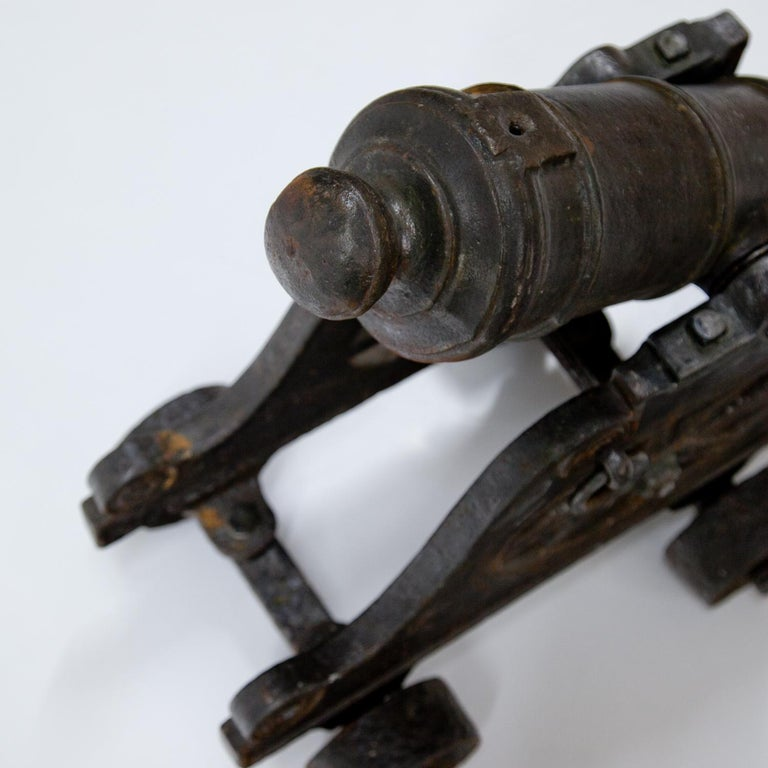 Cannon, Probably 18th Century In Good Condition For Sale In Greding, DE