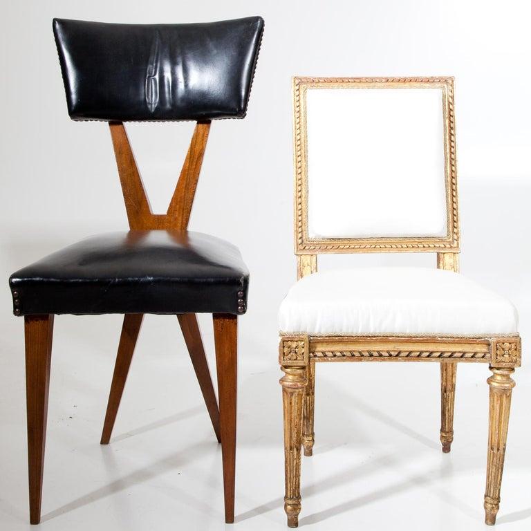 French Louis Seize Children's Chair by J. B. Boulard, France, circa 1770 For Sale