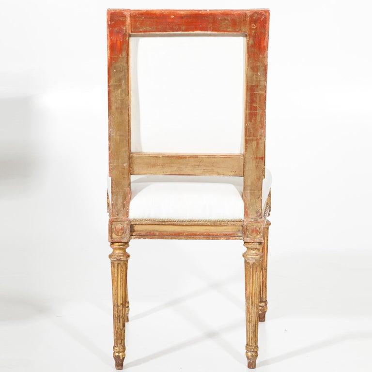 Late 18th Century Louis Seize Children's Chair by J. B. Boulard, France, circa 1770 For Sale