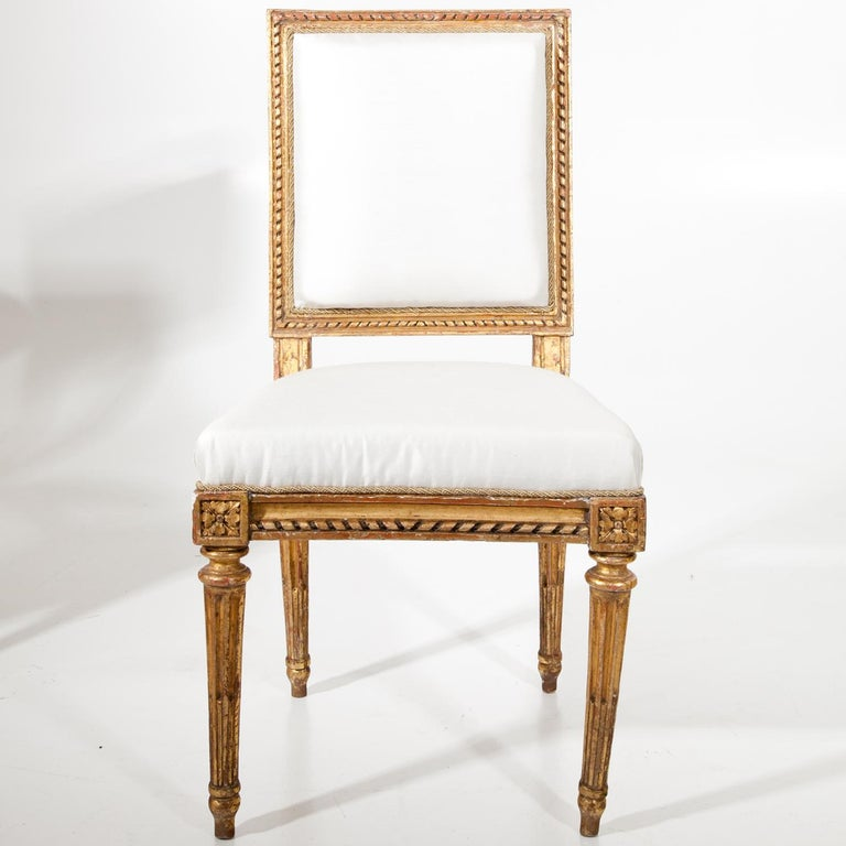Louis Seize Children's Chair by J. B. Boulard, France, circa 1770 For Sale 1
