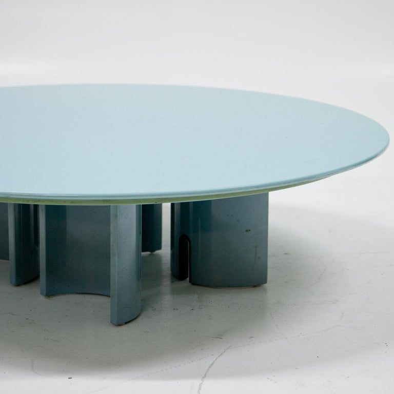 Coffee Table by Giovanni Offredi for Saporiti, Italy, 1980s For Sale 4
