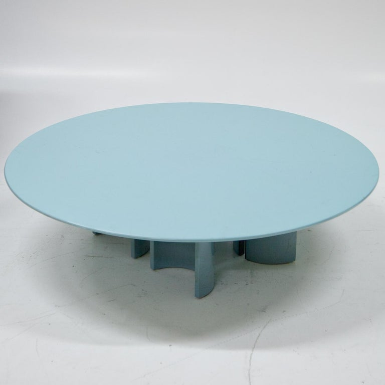 Coffee Table by Giovanni Offredi for Saporiti, Italy, 1980s For Sale 3