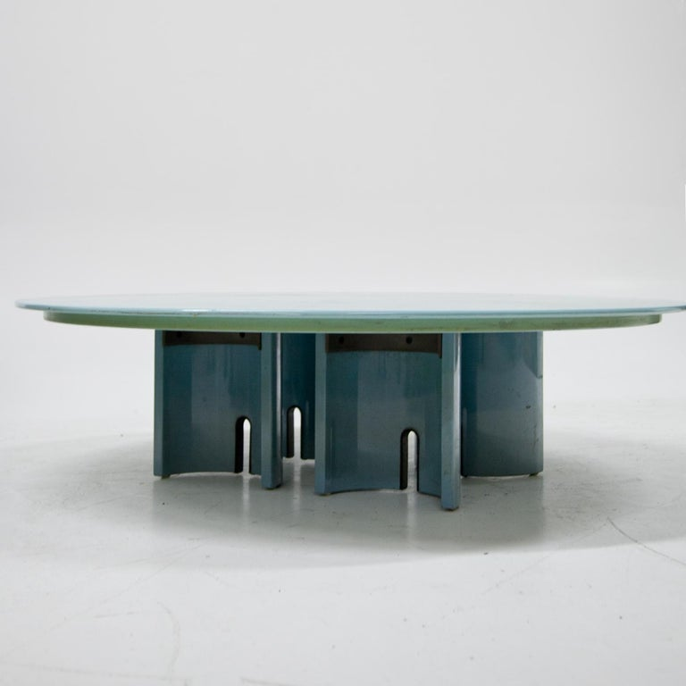 Late 20th Century Coffee Table by Giovanni Offredi for Saporiti, Italy, 1980s For Sale