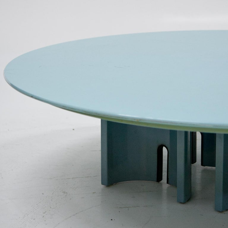 Coffee Table by Giovanni Offredi for Saporiti, Italy, 1980s For Sale 2