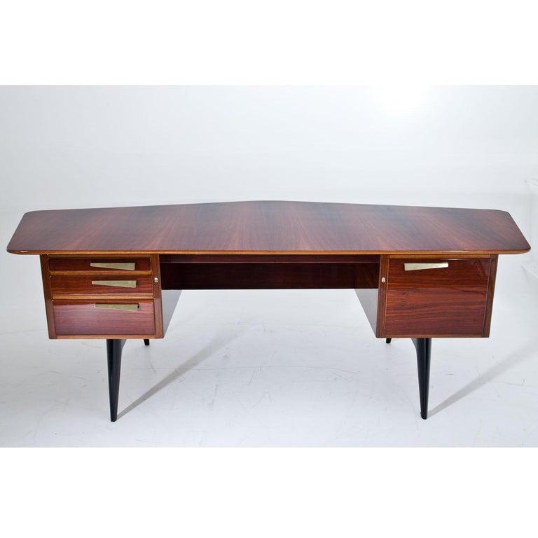 Executive Desk by Hadar Schmidt, 1950s-1960s For Sale 1