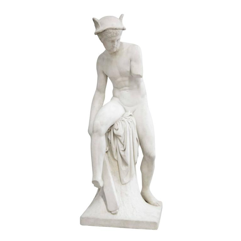 Marble Hermes Statue from the Early 19th Century