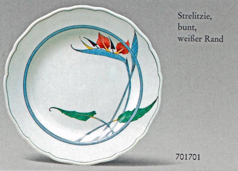 Meissen Dinner Set Decor 701701 12 Persons Paradise Flowers by Heinz Werner 2