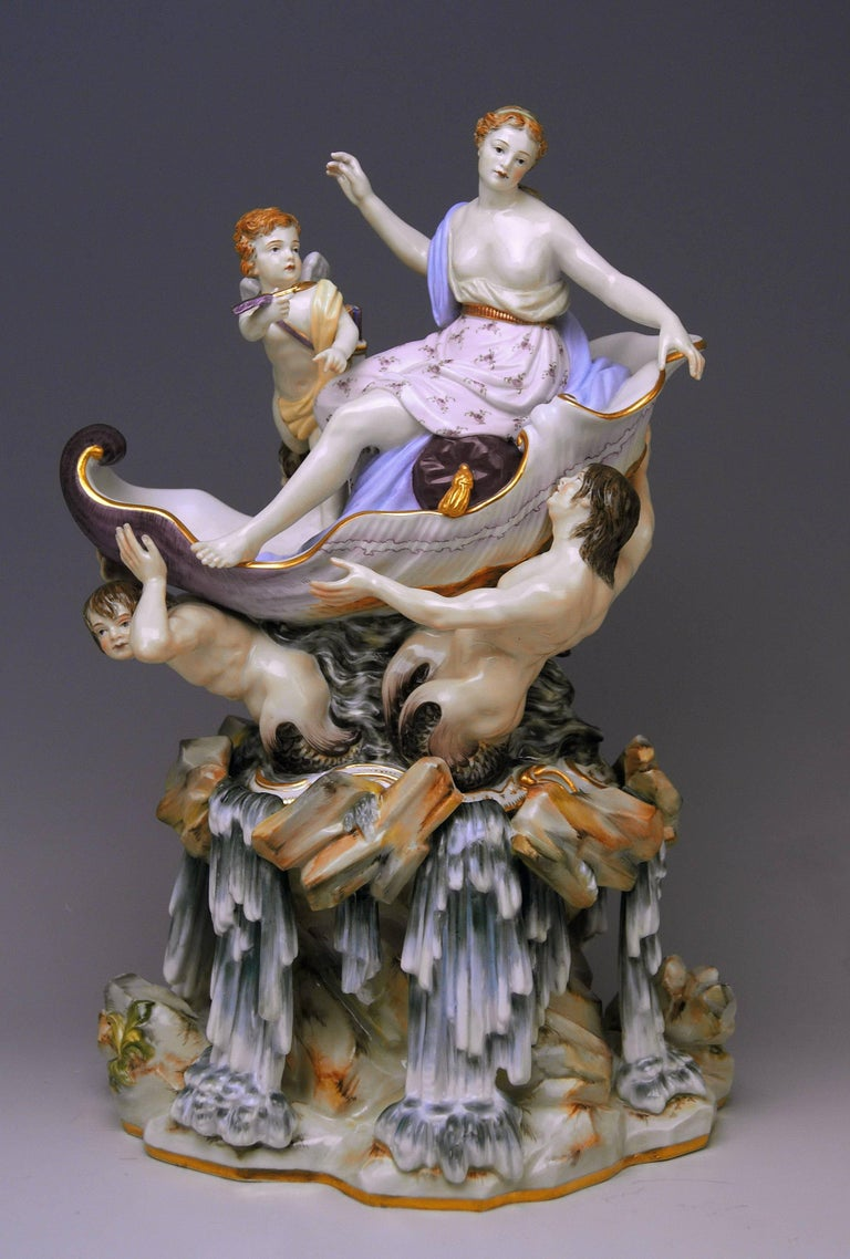 Meissen most remarkable figurine group: Triumph Of Venus
