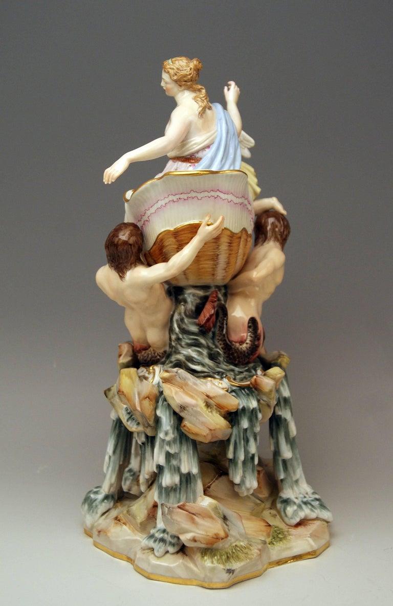 Meissen Triumph of Venus Model 127 Kaendler Kändler Johann Joachim In Excellent Condition For Sale In Vienna, AT