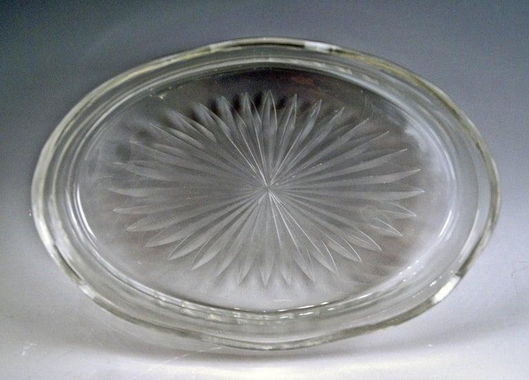 Silver Art Nouveau Flower Bowl, Germany Koch & Bergfeld, circa 1900 For Sale 9