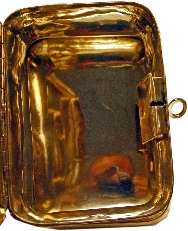 Early 20th Century Austrian Silver Sugar Box like Chest with Key, circa 1900 For Sale