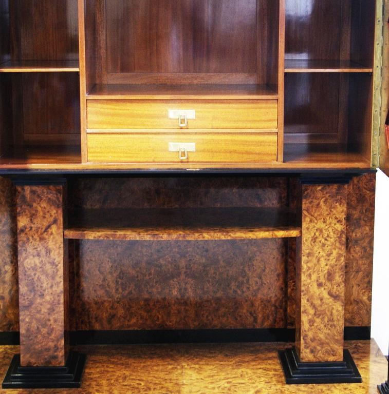 Josef Maria Olbrich Music Room Cabinet Darmstadt Germany made c.1900 In Good Condition For Sale In Vienna, AT