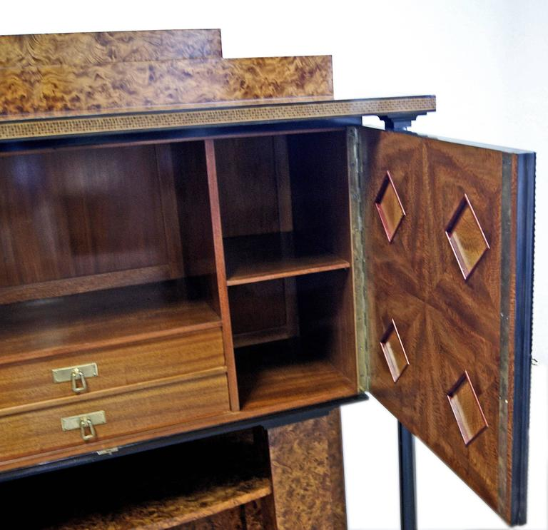 Early 20th Century Josef Maria Olbrich Music Room Cabinet Darmstadt Germany made c.1900 For Sale
