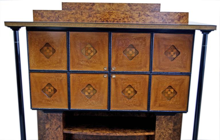 Josef Maria Olbrich Music Room Cabinet Darmstadt Germany made c.1900 For Sale 3
