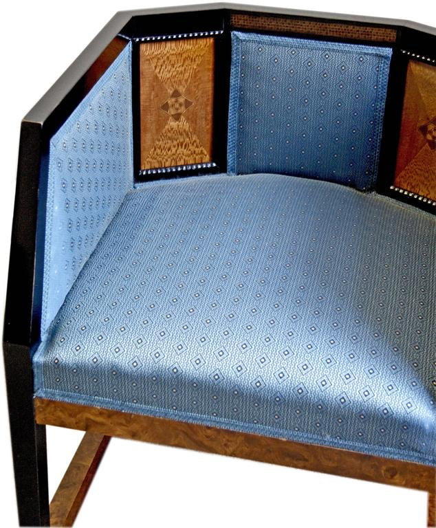 Early 20th Century Josef Maria Olbrich Music Room Armchair 2 Darmstadt Germany  c.1900 For Sale