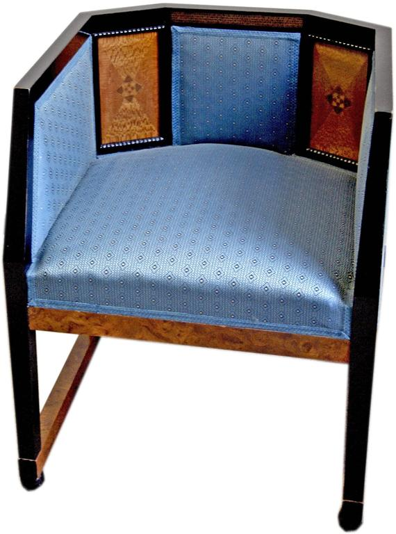 Other Josef Maria Olbrich Music Room Armchair 2 Darmstadt Germany  c.1900 For Sale