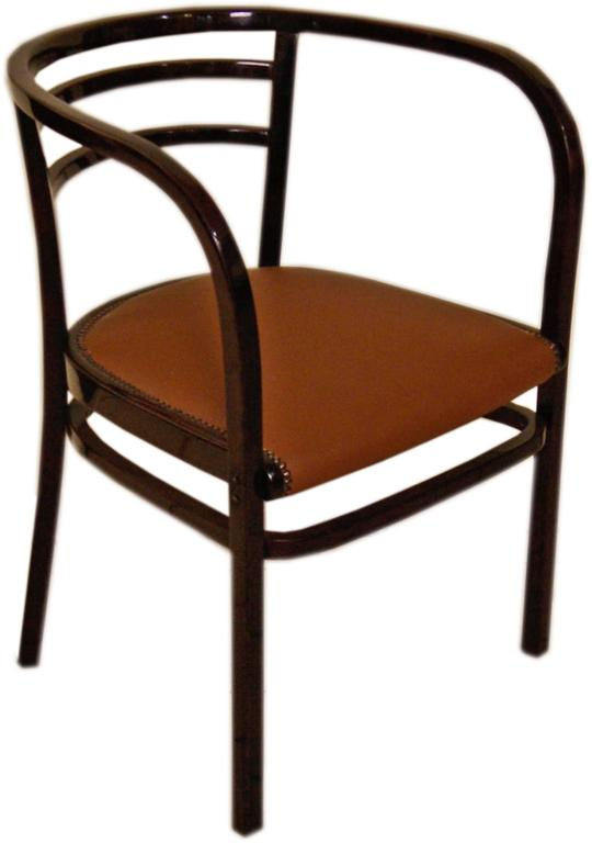 Thonet Vienna Armchair Otto Wagner Art Nouveau Model 6516 made circa 1911 In Excellent Condition For Sale In Vienna, AT